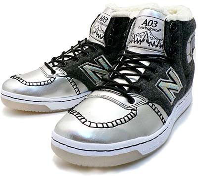 new balance a03 [optimystik × mita sneakers] ニューバランス A03 「シルバー|オプティミスティック×ミタスニーカーズ」