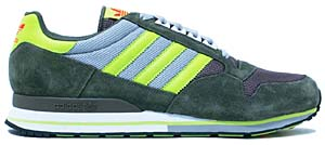 adidas zx 500 [olive/lime green/grey] (915539) アディダス ZX 500 「オリーブ/ライムグリーン」