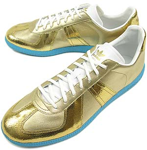 adidas bw army [metallic gold/pure cyanogen] (017290) アディダス BW アーミー 「メタリックゴールド/ピュアシアン」