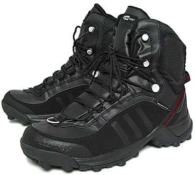 adidas cerro tr boot cp [black/univercity red] (020686) アディダス セーロ TR ブーツ CP 「黒/赤」