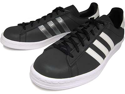 adidas campus 80's consortium [black/white/metsil] (022255) アディダス キャンパス 80s コンソーシアム 「黒リフレクター」