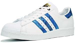 adidas superstar 80's [blue snake /consortium] (023016) アディアス スーパースター 80's 「青蛇/コンソーシアム」