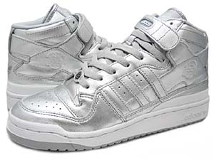 adidas FORUM MID [METALLIC SILVER / 25th Anniversary]  160444