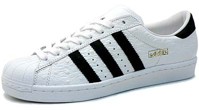 adidas super star vintage [white/black/gold] (663086) アディダス スーパースター ヴィンテージ 「白/黒」