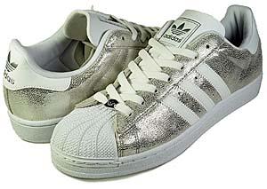adidas super star 1 [white/silver] (775993) アディダス スーパースター1 「白/メタリックシルバー」