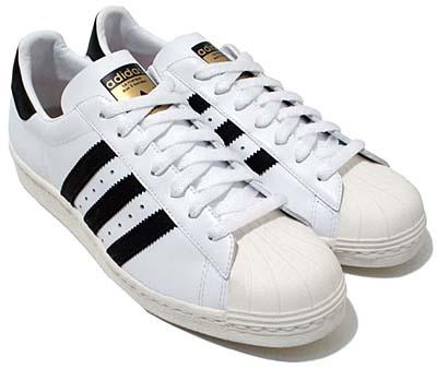 adidas super star 80s [white/black] (913165) アディダス スーパースター80s 「白/黒」