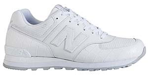 new balance m574ld cw [white] ニューバランス M574LD CW 「白クロコダイル」