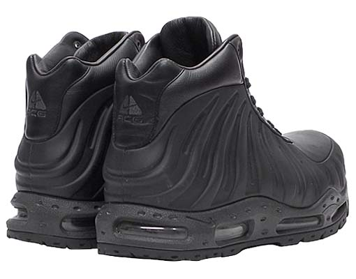 NIKE ACG AIR FOAMPOSITE BOOT [BLACK] 333791-001