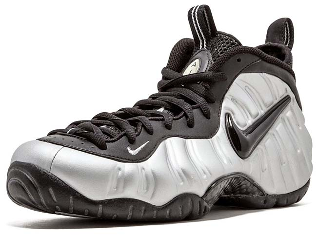 NIKE AIR FOAMPOSITE PRO [METALLIC SILVER / BLACK] 624041-002