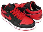 NIKE AIR JORDAN 1 PHAT LOW [BLACK/VARSITY RED-WHITE]