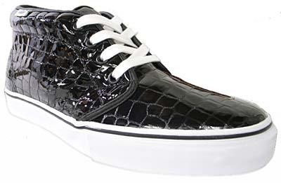 vans chukka boot lx vault [croc black] バンズ チャッカブーツ LX ボールト 「クロコ ブラック]