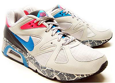 nike air structure triax 91 [neutral grey/triqoise-pavement] (318088-042) ナイキ エア ストラクチャー トライアックス91 「グレー/ブルー/ピンク」