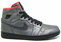 NIKE AIR JORDAN 1 HIGH PREMIER [PEWTER/BLACK-MAX ORANGE] (332134-001)