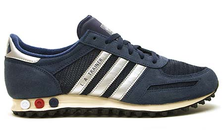 adidas L.A. TRAINER [NAVY/SILVER] 075975 写真1