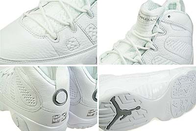 NIKE AIR JORDAN 9 RETRO [The Silver Anniversary Air Jordans] 写真1