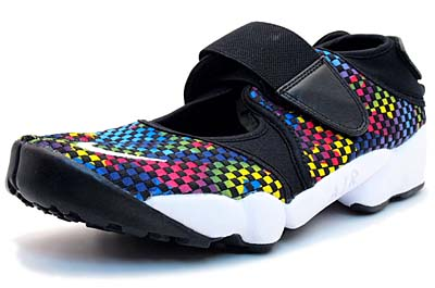 NIKE AIR RIFT MTR [BLACK/MULTI]
