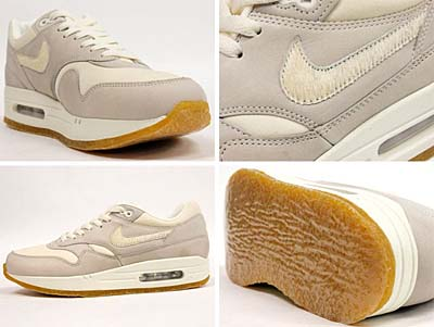 NIKE AIR MAX 1 PREMIUM [SAIL/SAIL-GUM LIGHT BROWN] 309717-100 写真1