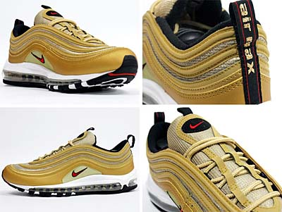NIKE AIR MAX 97 LE [METALIC GOLD] 写真1