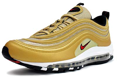 NIKE AIR MAX 97 LE [METALIC GOLD]
