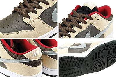 NIKE DUNK LOW PREMIUM SB [DARK CHOCOLATE-M.SLV-LNN] 写真1