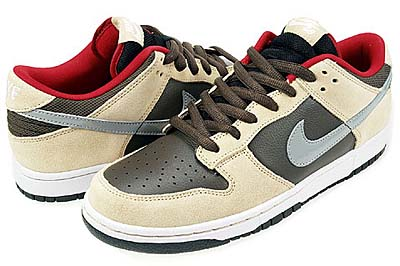 NIKE DUNK LOW PREMIUM SB [DARK CHOCOLATE-M.SLV-LNN]