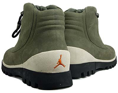 NIKE AIR JORDAN 2CLEAN [ARMY OLIVE/SOLAR ORANGE-BLACK] 313509-381 写真1