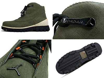 NIKE AIR JORDAN 2CLEAN [ARMY OLIVE/SOLAR ORANGE-BLACK] 313509-381 写真2