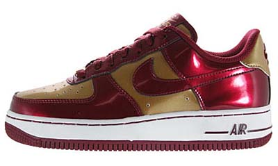 NIKE GS AIR FORCE 1 LOW [Iron Man]