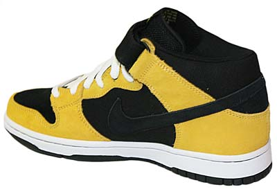 NIKE DUNK MID PRO SB [BLACK/VARSITY MAIZE/SPORT RED] 写真1