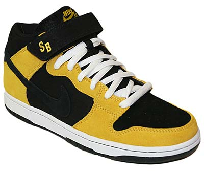 NIKE DUNK MID PRO SB [BLACK/VARSITY MAIZE/SPORT RED]