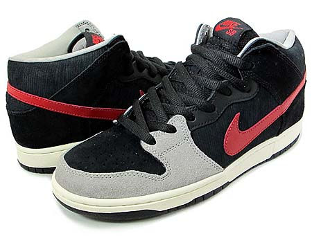 NIKE DUNK MID PRO SB [BLACK/VARSITY RED/MEAN GREEN]