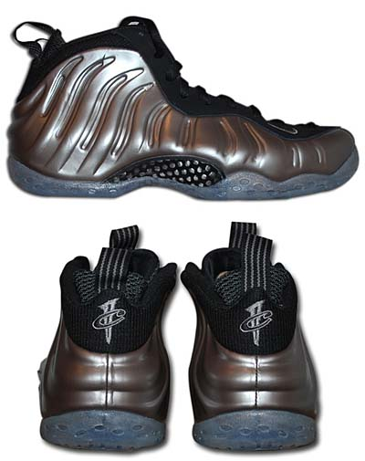 NIKE AIR FOAMPOSITE ONE [METALLIC PEWTER/BLACK] 314996-004 写真1