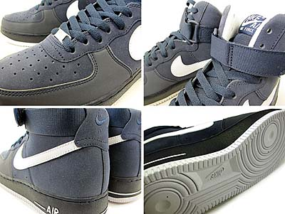 NIKE AIR FORCE 1 HI [OBSIDIAN/WHITE] 315121-400 写真1