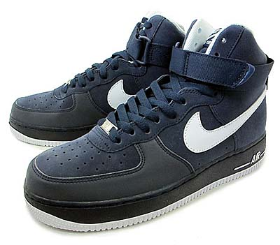 NIKE AIR FORCE 1 HI [OBSIDIAN/WHITE]