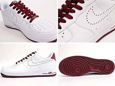 NIKE AIR FORCE 1 LOW 07 [WHITE/TEAM RED] 315122-137 写真1
