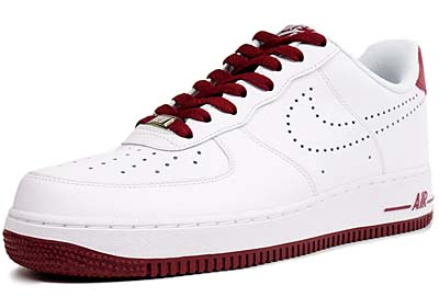 NIKE AIR FORCE 1 LOW 07 [WHITE/TEAM RED]