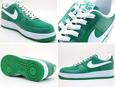 NIKE AIR FORCE 1 [LUCKY GREEN/WHITE] 写真1