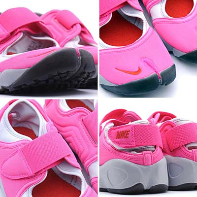 NIKE WMNS AIR RIFT [PINK FLASH/CHALLENGE RED-METALLIC PLATINUM] 写真1