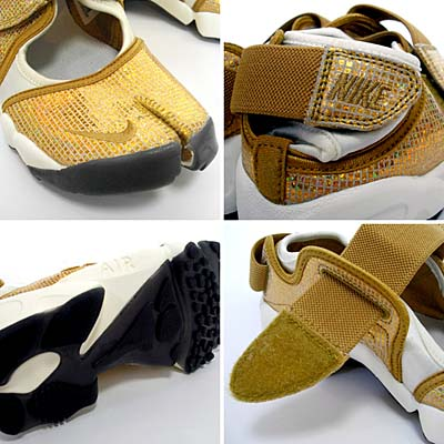 NIKE WMNS AIR RIFT [METALLIC GOLDSTAR/METALLIC GOLDSTAR-WHITE] 写真1