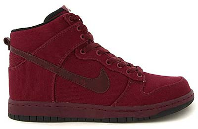 NIKE DUNK HIGH PREMIUM '08 ND [DARK PLUM/BLACK]