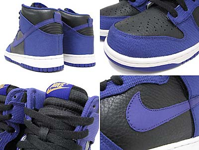 NIKE DUNK HIGH [BLACK/WICKD PUR-M.GOLD] 写真1