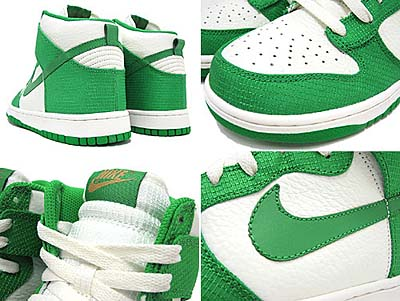 NIKE DUNK HIGH [SAIL/LUCKY GREEN] 写真1