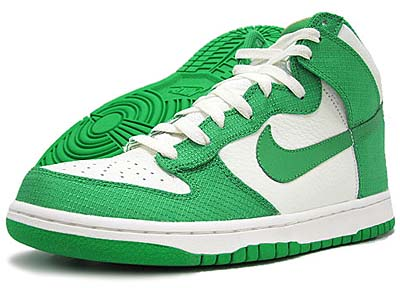 NIKE DUNK HIGH [SAIL/LUCKY GREEN]