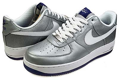 NIKE AIR FORCE 1 LOW PREMIUM 08 LE [MTLLC SILVER/WHITE-WCKD PRPL|FUTURA]