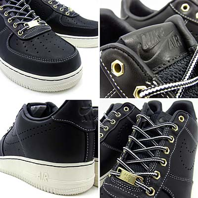 NIKE AIR FORCE 1 LOW PREMIUM [BLACK|HIKING BOOTS PACK] 318775-009 写真1