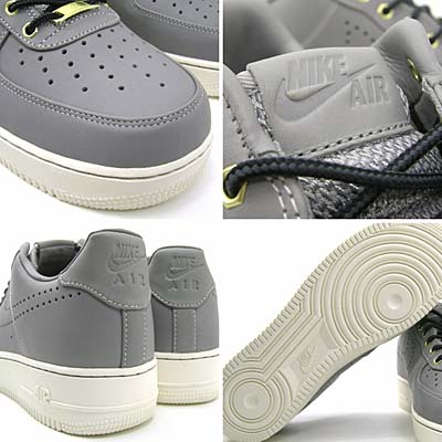 NIKE AIR FORCE 1 LOW PREMIUM [MED GREY/SAIL|HIKING BOOTS PACK] 318775-010 写真1