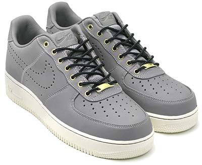 NIKE AIR FORCE 1 LOW PREMIUM [MED GREY/SAIL|HIKING BOOTS PACK]