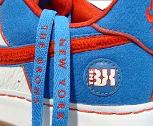 NIKE AIR FORCE 1 PREMIUM [Bronx Edition / WBF Five Boroughs' Pack] 写真1