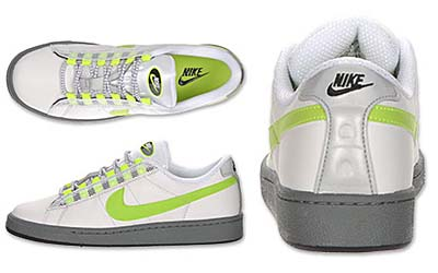 NIKE TENNIS CLASSIC LS [WHITE / NN YELLOW-ANTHRACITE-COOL GREY] 写真1