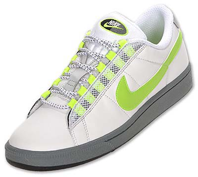 NIKE TENNIS CLASSIC LS [WHITE / NN YELLOW-ANTHRACITE-COOL GREY]